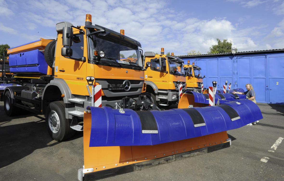 Nové vozy pro Správu a údržbu silnic (SÚS) Ústeckého kraje