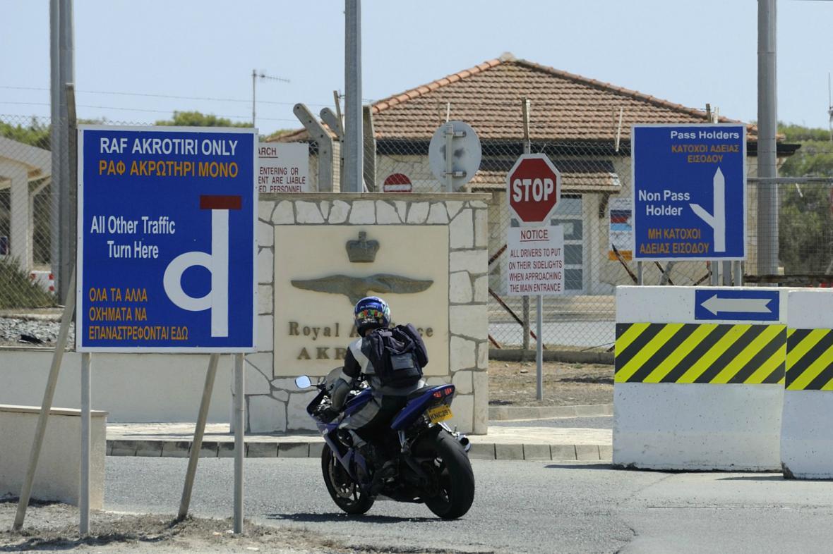 Britská vojenská základna na Kypru