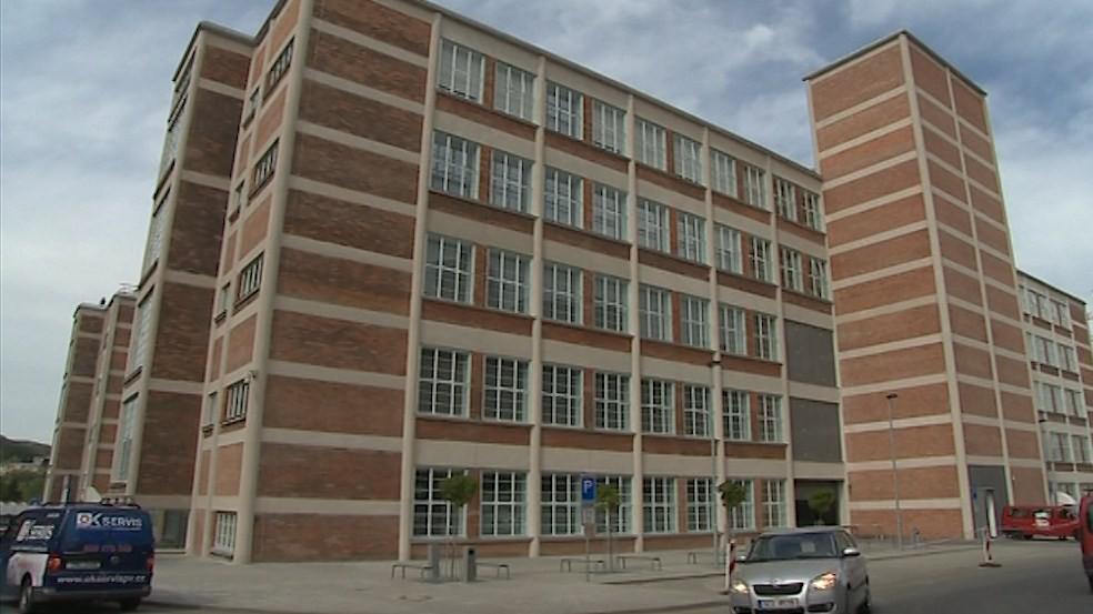 Budova číslo 14 ve Zlíně - sídlo Baťova institutu