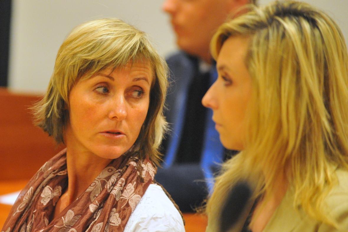 Zdravotní sestry Lenka Šicová a Dana Staňková