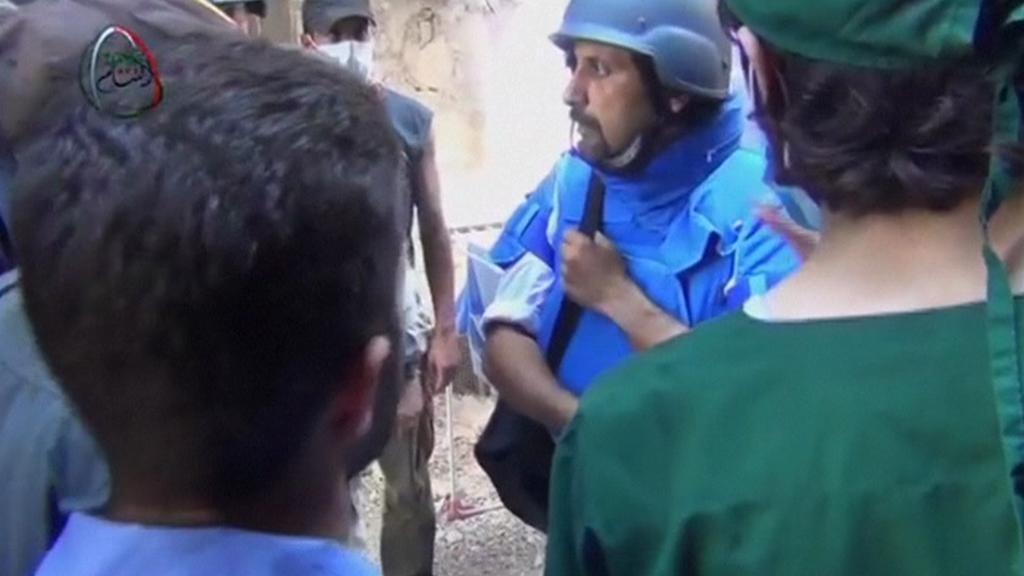 Experti OSN v Sýrii