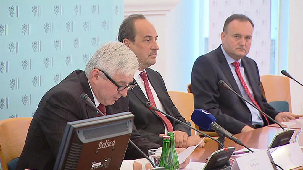 Jiří Rusnok a Jan Kohout