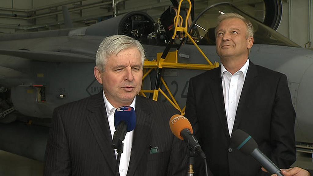 Jiří Rusnok a Vlastimil Picek