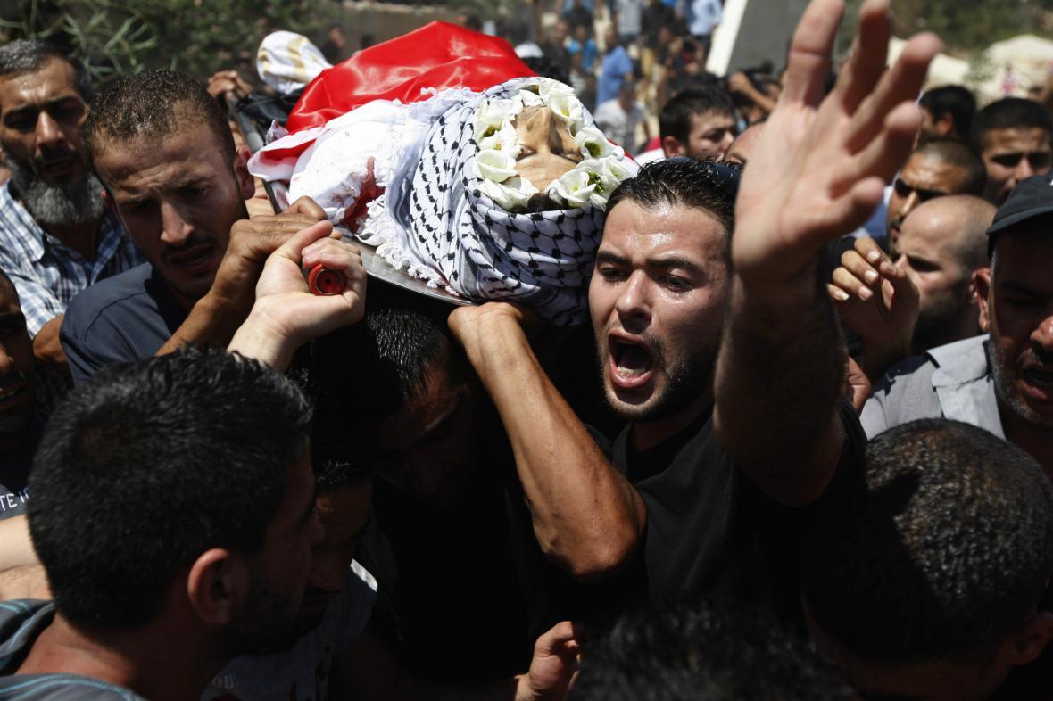 Oběť potyčky v palestinském uprchlickém táboře