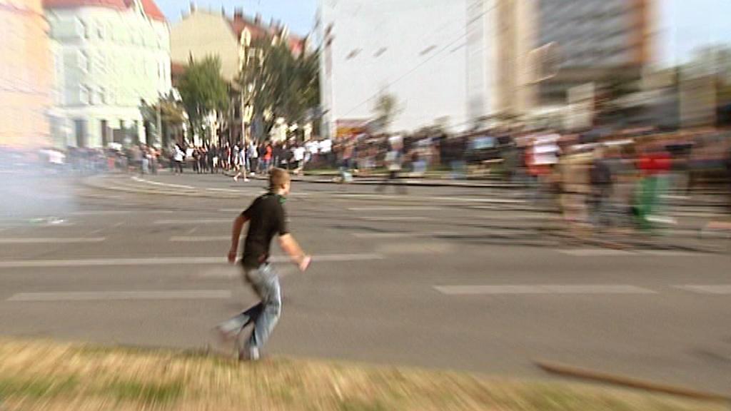 Protiromský pochod v Ostravě