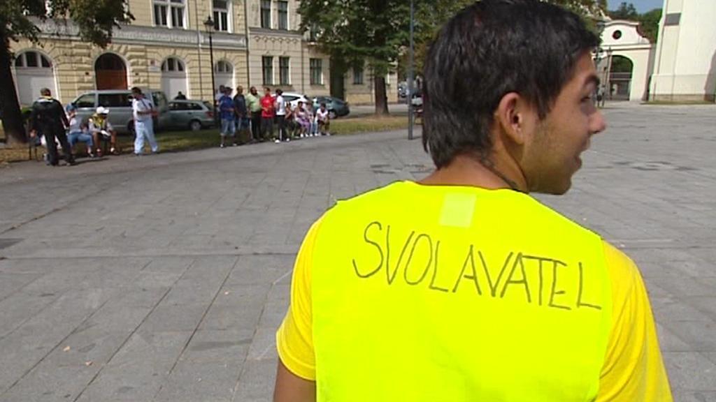 Demonstrace v Ostravě