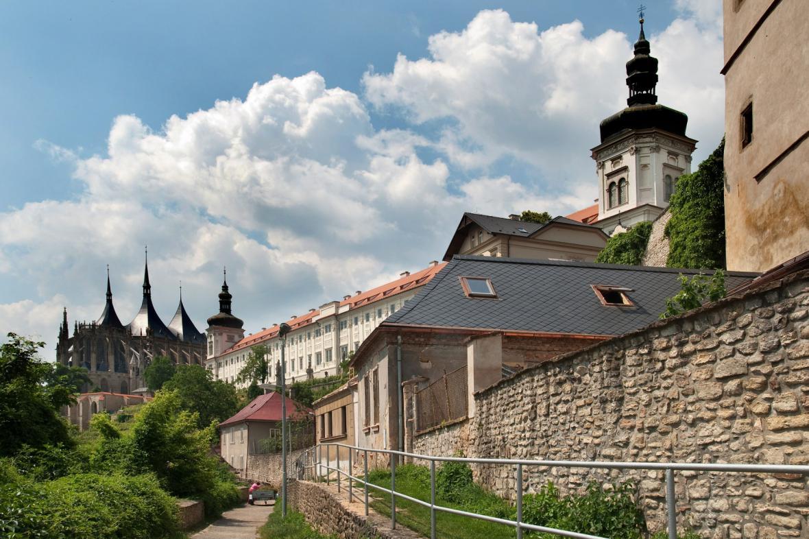 Jezuitská kolej a chrám sv. Barbory