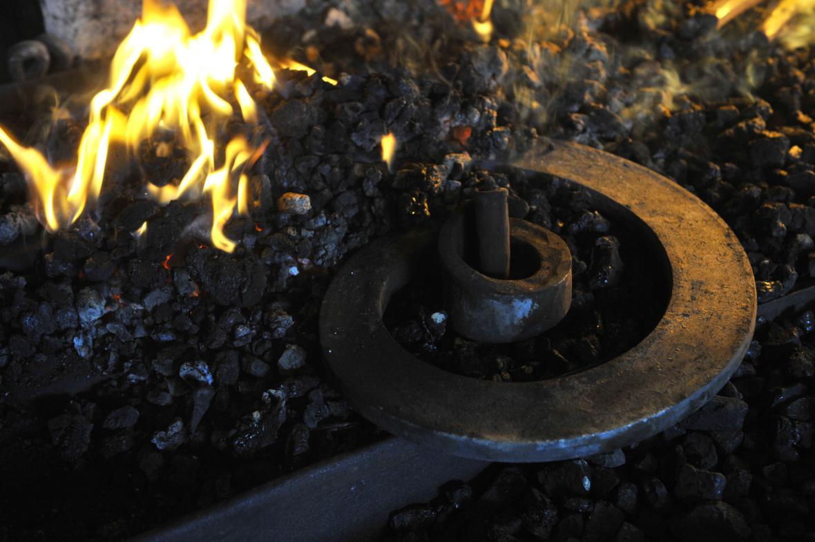Setkání kovářů Hefaiston na hradě Helfštýn