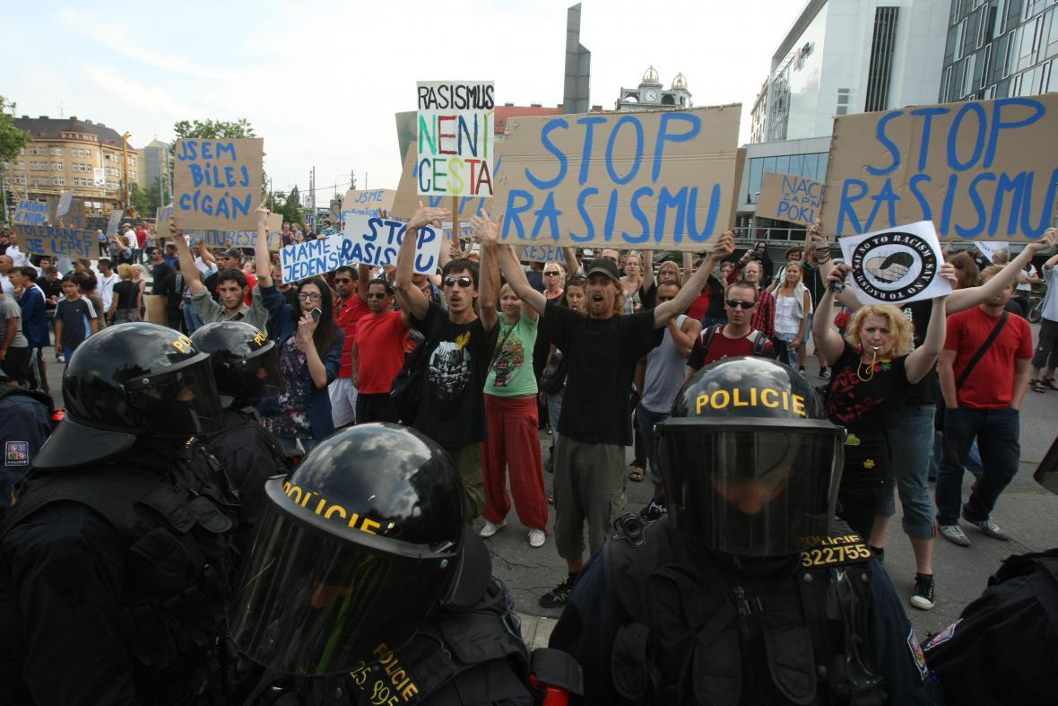 Protesty v Plzni