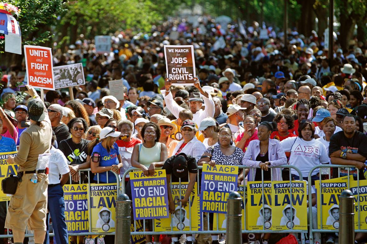 Ve Washingtonu si připomněli slavný projev Martina Luthera Kinga