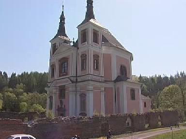 Kostel ve vojenském prostoru Libavá