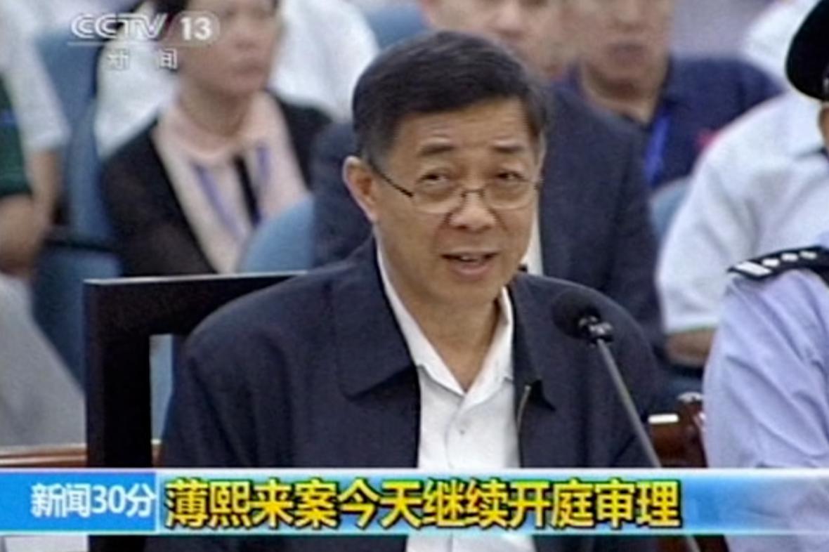Po Si-laj před soudem