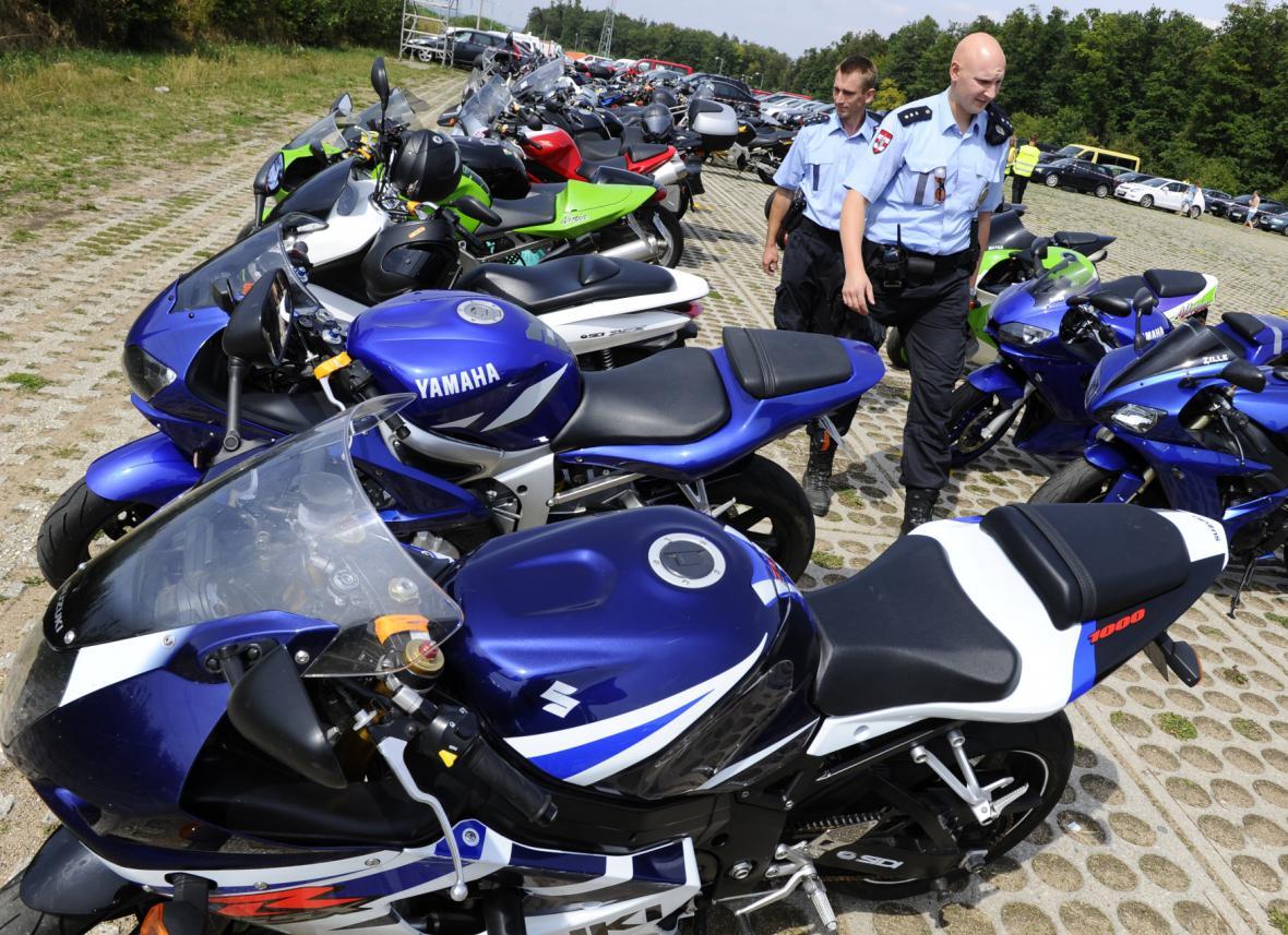 Díky policii už na Grand Prix několik let nezmizela jediná motorka