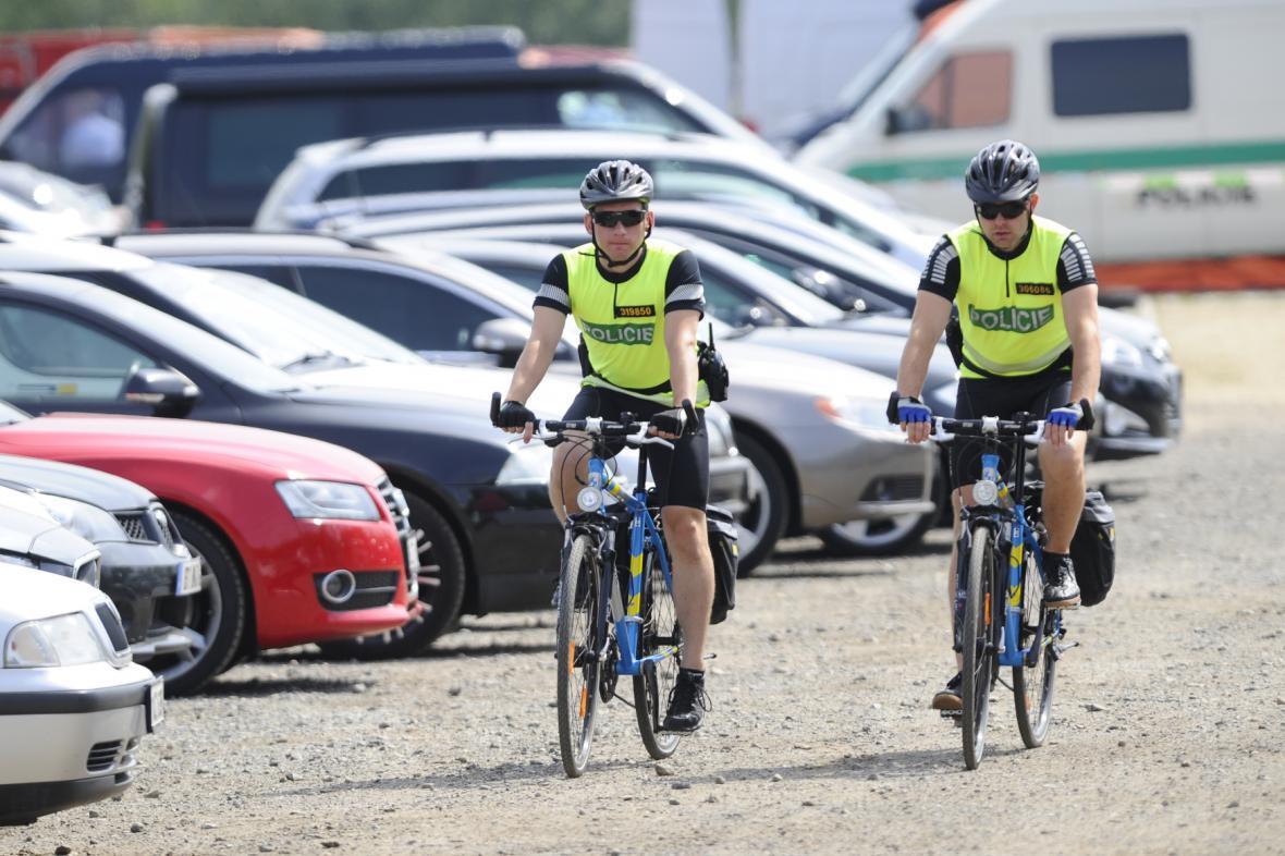 Policie využívá i cyklohlídky