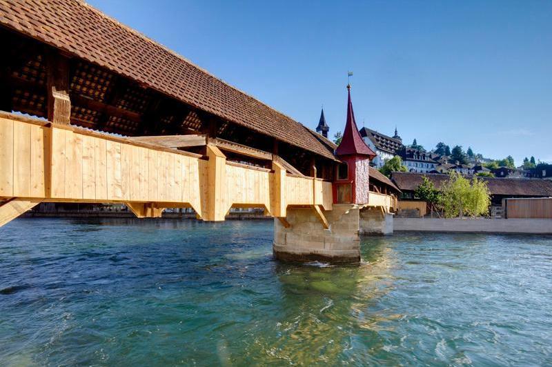 Spreuerbrücke v Lucernu