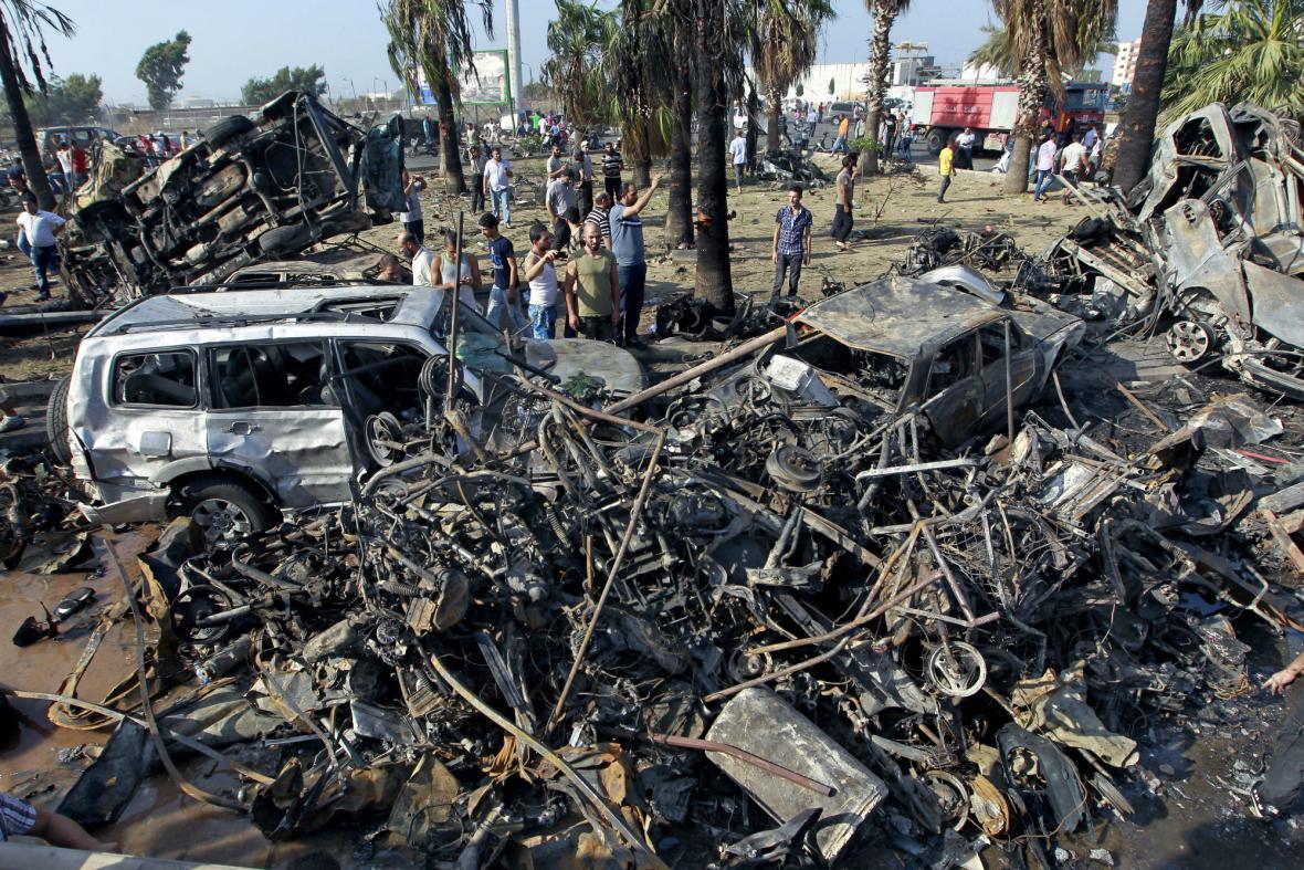 V centru libanonského Tripolisu explodovaly dvě bomby