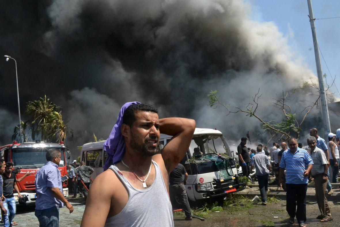 Exploze v libanonském Tripolisu