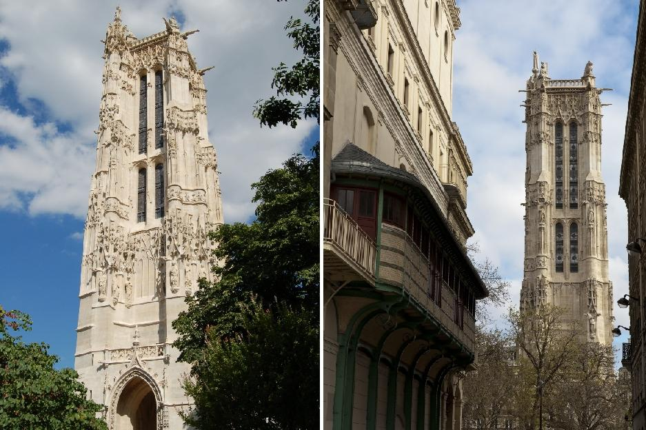 Věž svatého Jakuba v Paříži