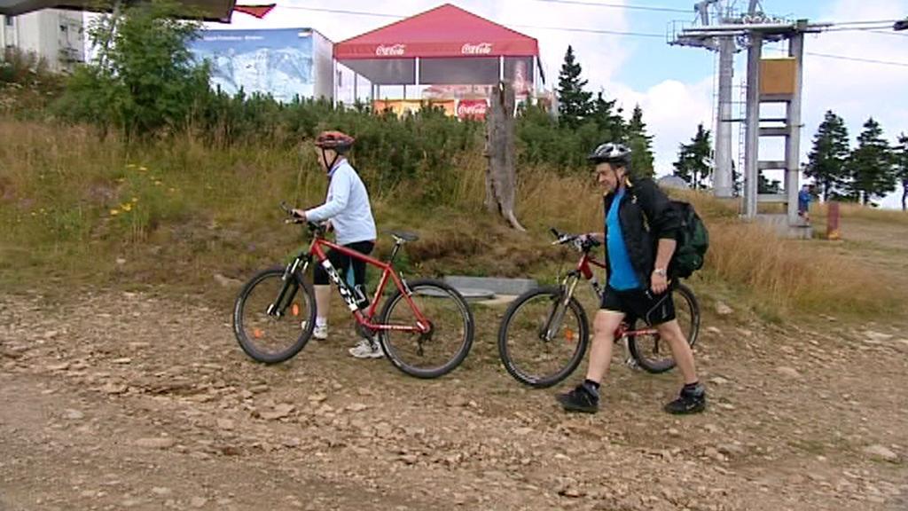 Krušné hory navštěvuje rok od roku více cyklistů