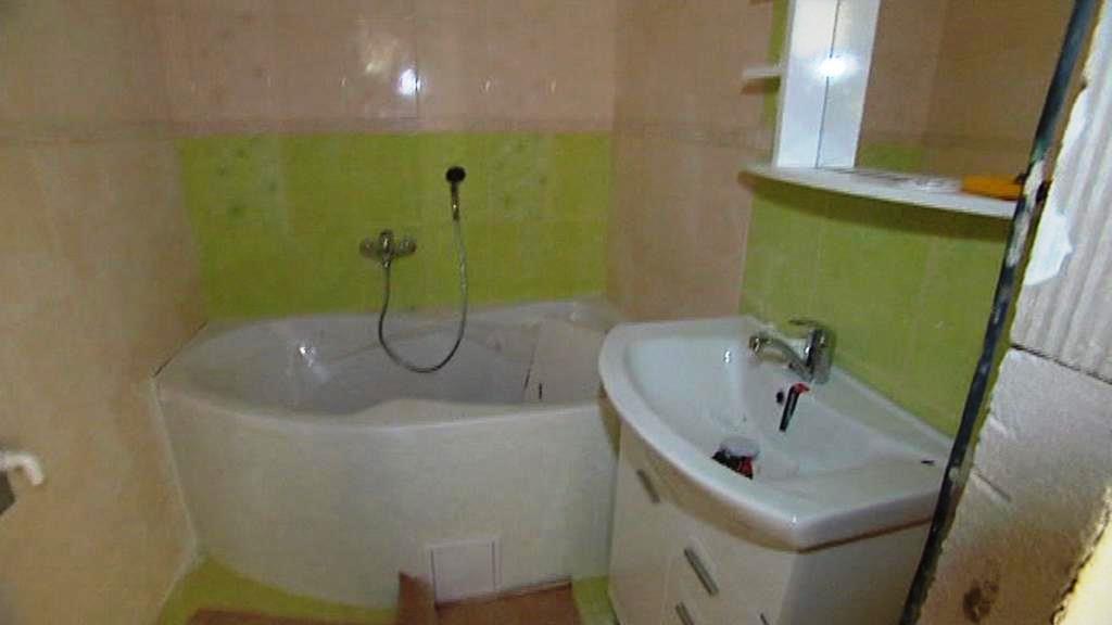 Koupelna v opraveném domě