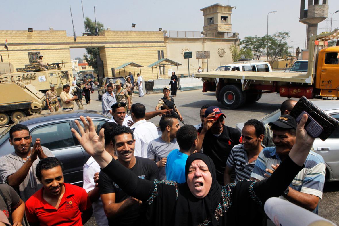 Stoupenci Husního Mubaraka