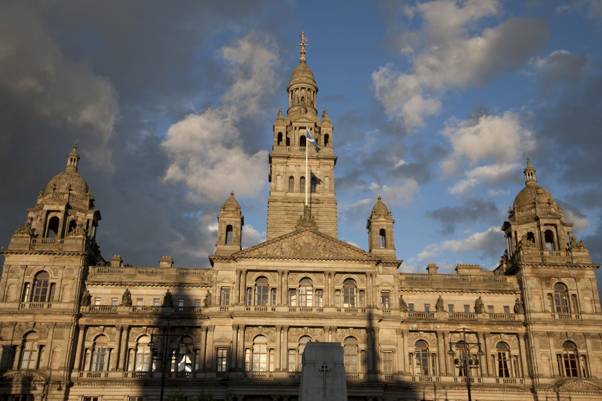 Radnice v Glasgow