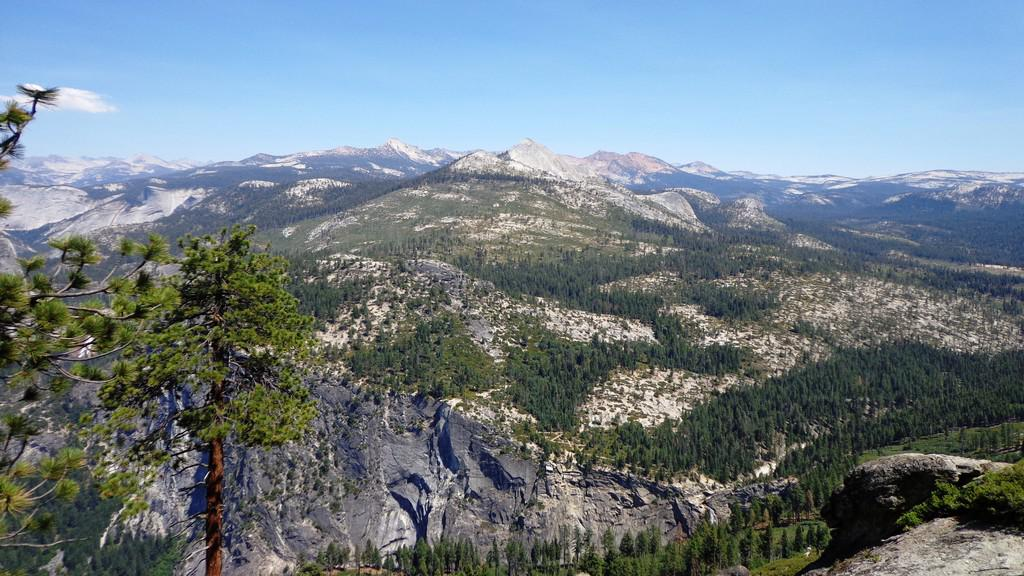 Glacier Point - výhled na Yosemity
