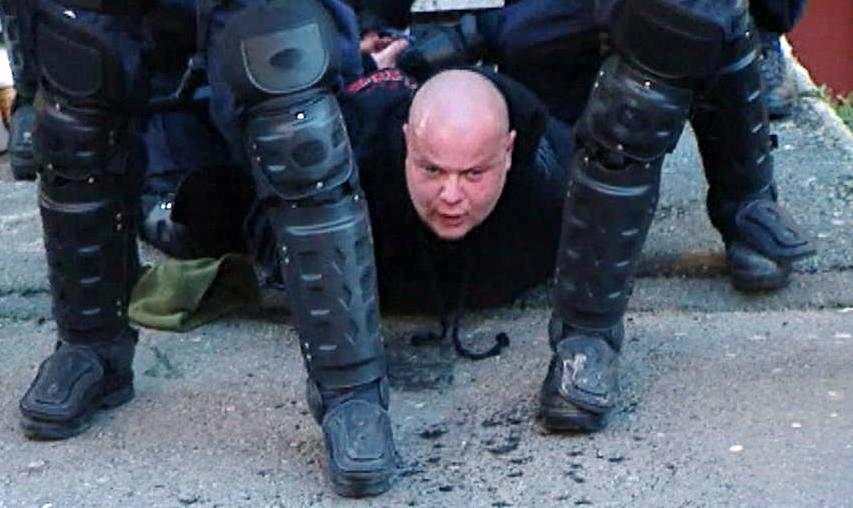 Zadržený extremista