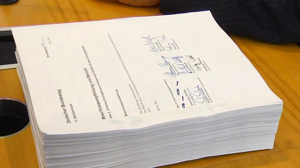 Závěrečná zpráva německé parlamentní vyšetřovací komise