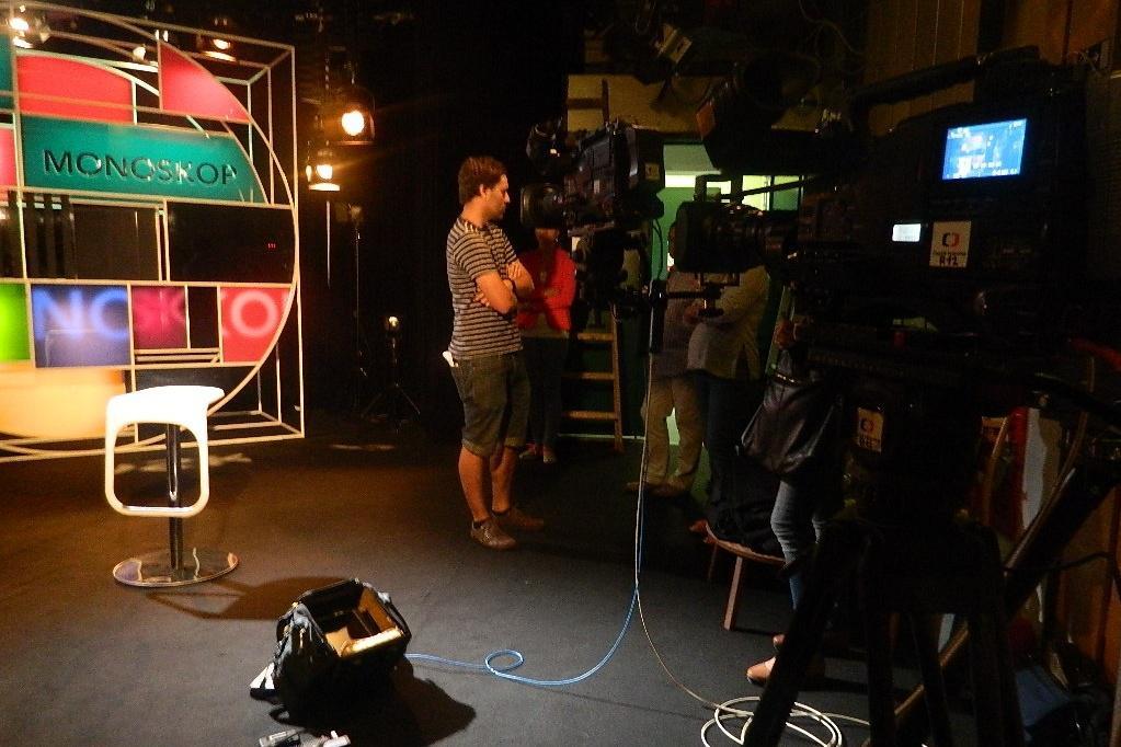 Natáčení pořadu Monoskop