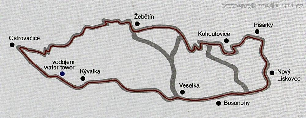 Masarykův okruh v letech 1930 - 1937