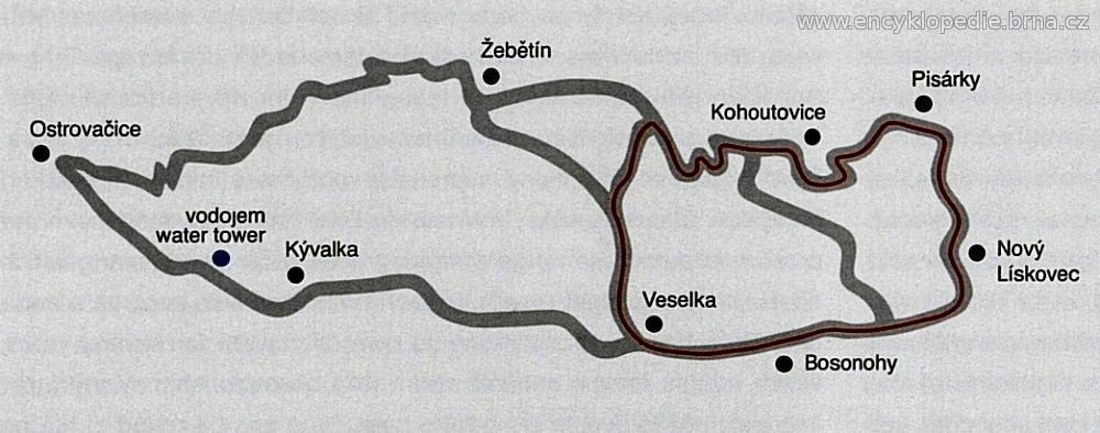 Masarykův okruh v letech 1964 - 1974