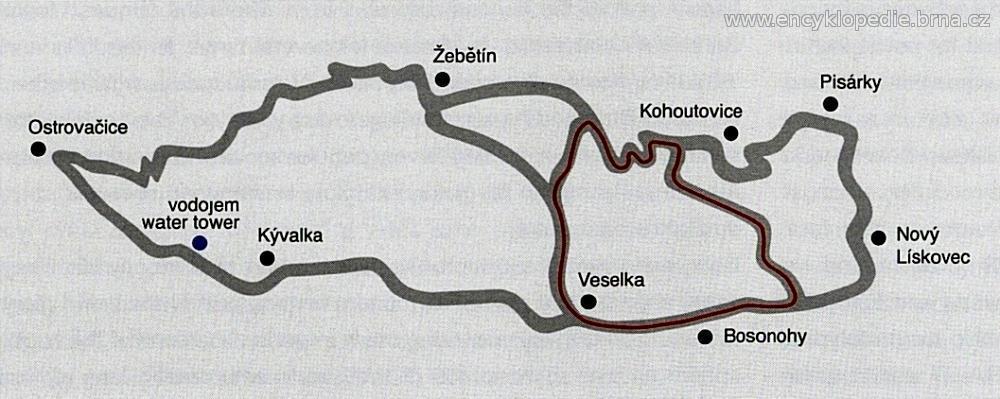 Masarykův okruh v letech 1975 - 1986