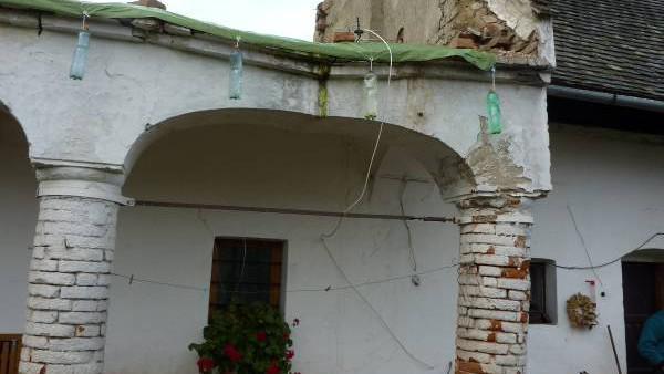 Památkově chráněný dům ve Strachoticích