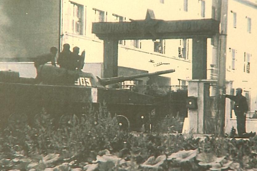 Holešovští výsadkáři odmítli Sověty vpustit do kasáren