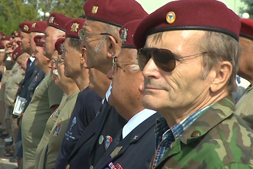Veteráni 7. výsadkového pluku zvláštního určení