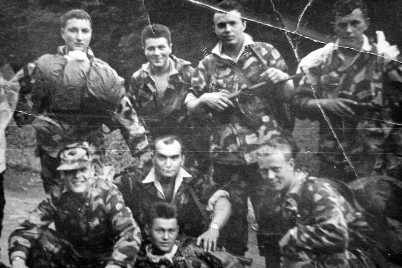 Příslušníci 7. výsadkového pluku