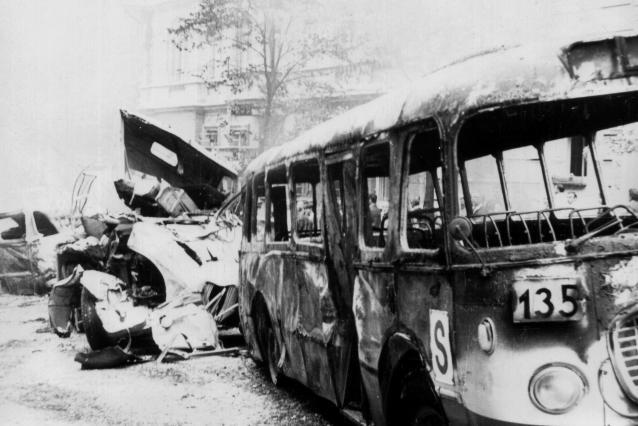Srpen 1968 v pražských ulicích