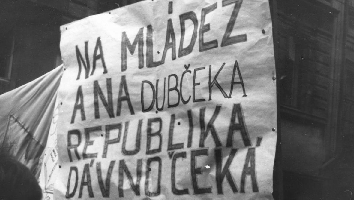 Srpen 1968 v ulicích