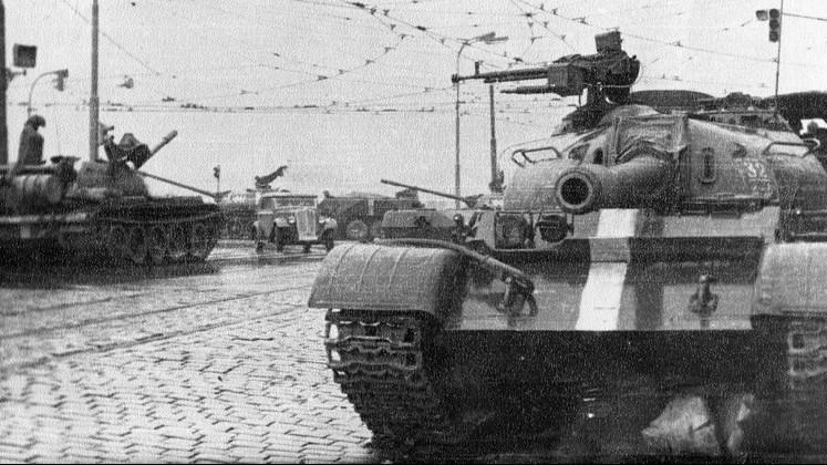 Ruské tanky v srpnu 1968