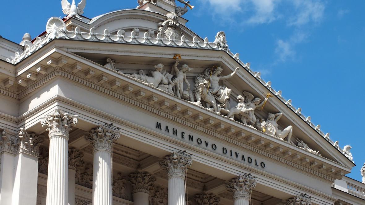 Sochařská výzdoba Mahenova divadla