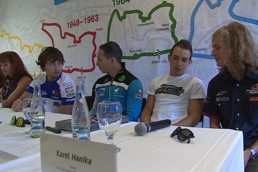 Čeští závodníci už dorazili do Brna