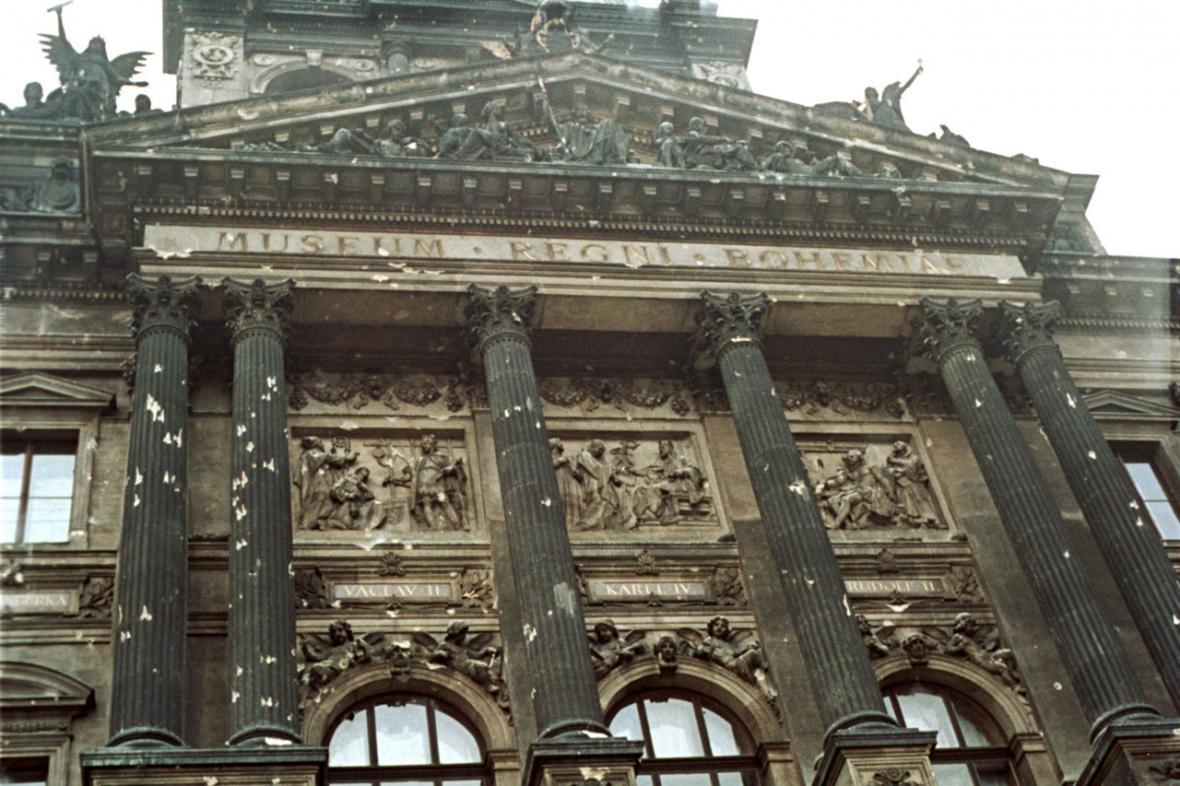 Národní muzeum v roce 1968