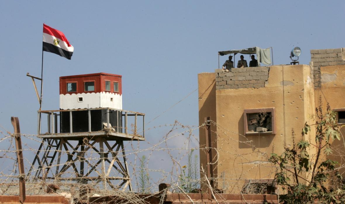 Egyptsko-izraelská hranice na Sinajském polostrově