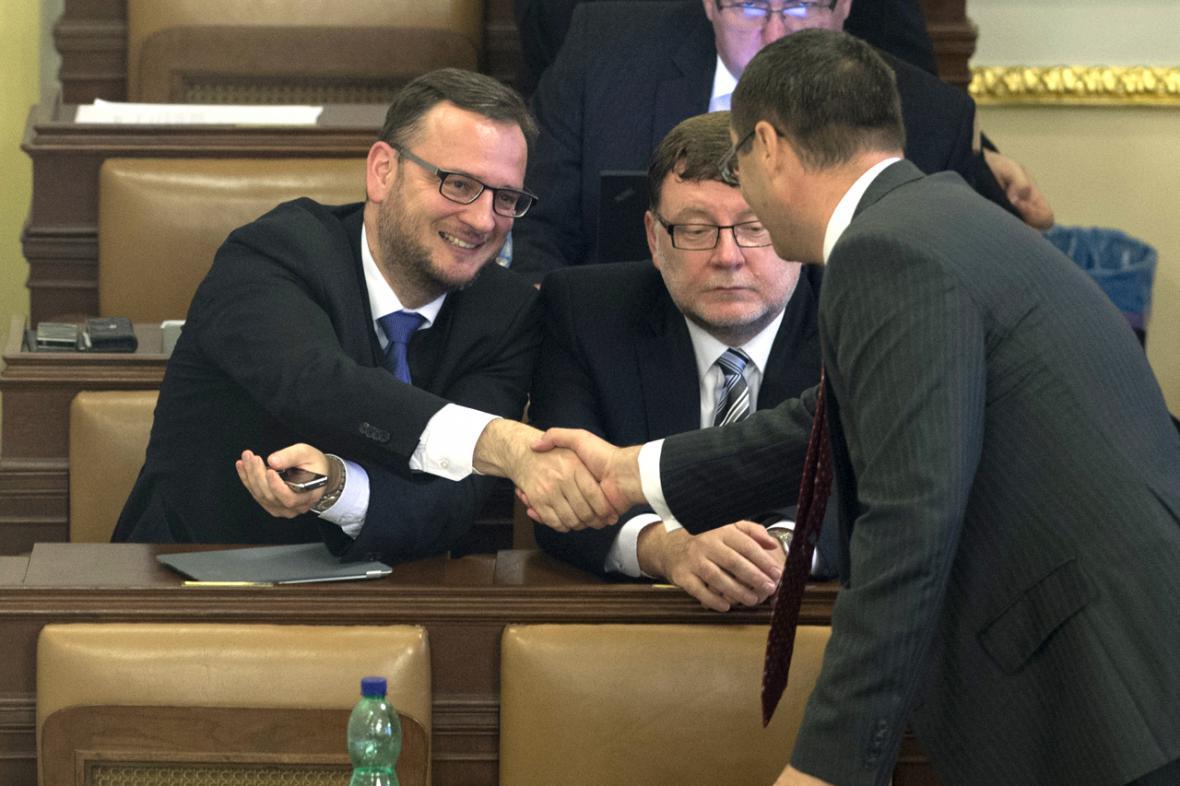 Poslanci ODS ve sněmovně