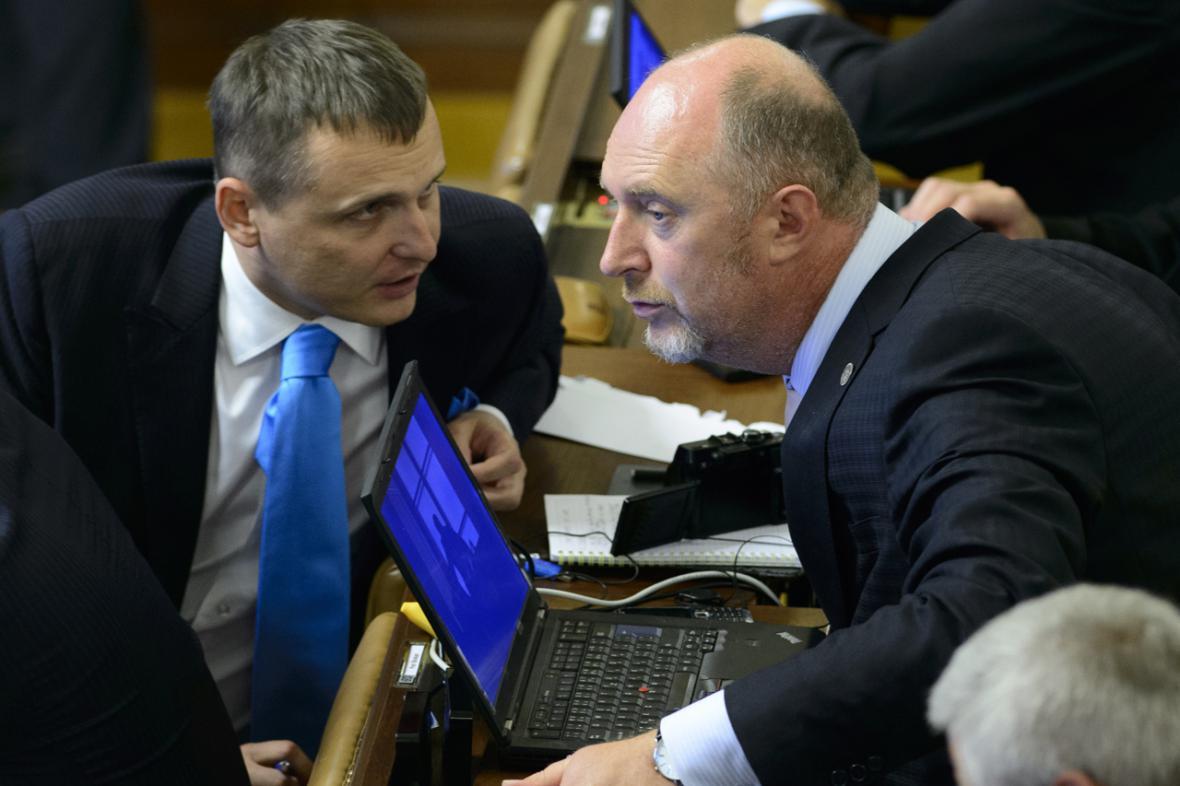 Poslanci VV ve sněmovně