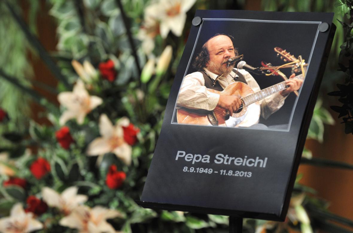 Pohřeb Pepy Streichla