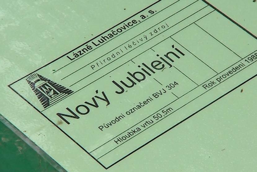 Pramen nese název Nový Jubilejní