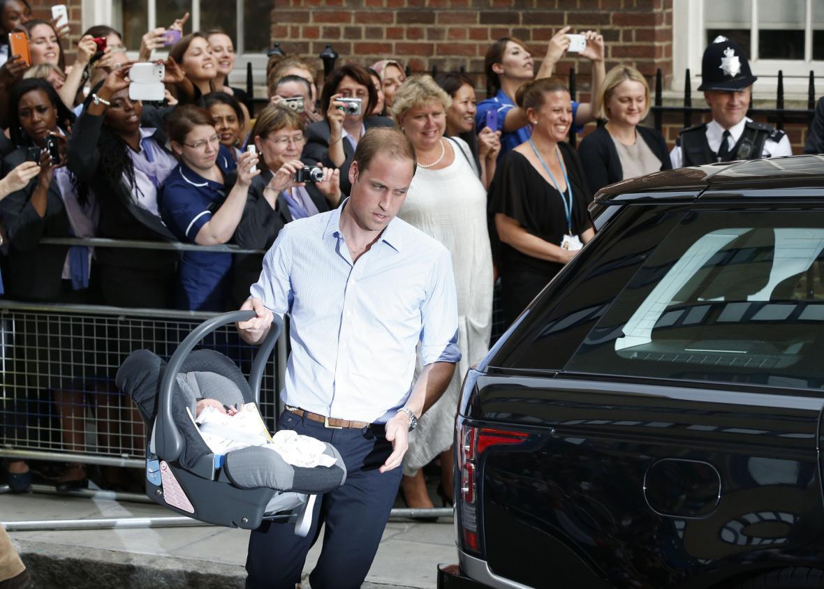 William odváží syna z nemocnice St. Mary