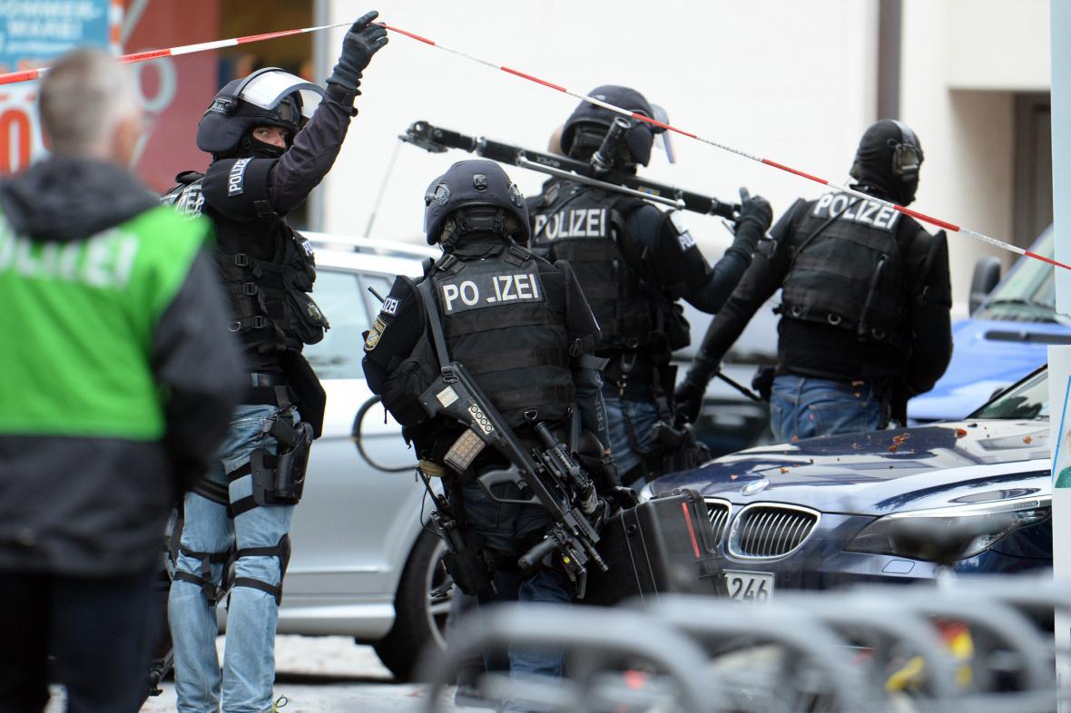 Zásah policie v německém Ingolstadtu